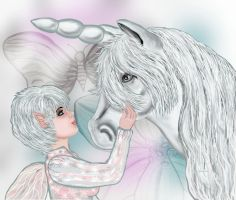 My Unicorn SGG by sallygilroy