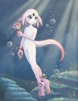 Aquatic Gardener by kureejiilea