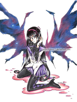 Homura - You are NOT alone by kyara17