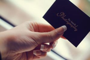 Business Card by AniekPhotography