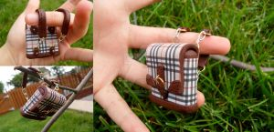 Miniature Burberry Backpack by minibean93