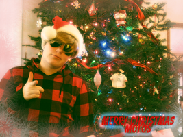 Merry Christmas 2011-Dave Strider by Konam