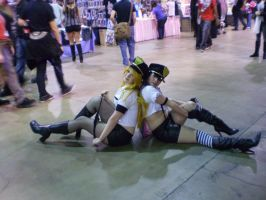 ACen 2012: Panty and Stocking by Mythii-Tan
