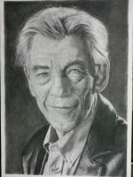 Sir Ian McKellen by igbeni