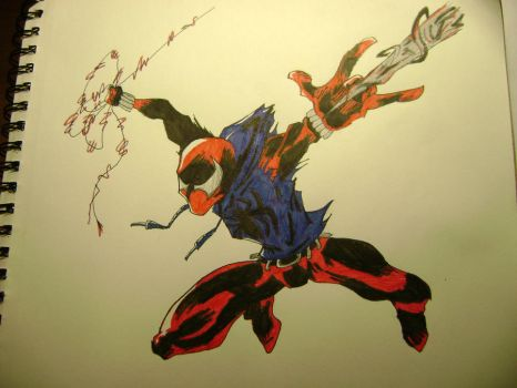 The Scarlet Spider by MentosMan