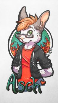 Asch | Badge Commission by xCailinMurre