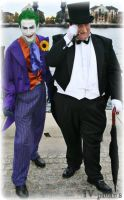 Napier and Cobblepot by sjbonnar