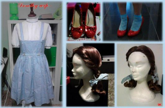 dorothy wip by MaddMorgana