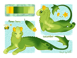 Adoptable Cucumber [Closed] by KrafiCat