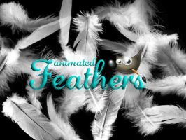 Feathers GIMP Brush by FrenchTeilhard