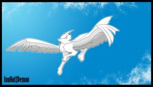 Fly With Me by InuHalfDemon