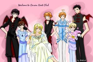 Another Ouran cosplay by HostClub