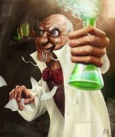 Mad scientist by sinhalite