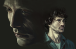 Hannibal+Will by chuanerya
