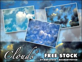 FREE STOCK, Clouds 4 by mmp-stock