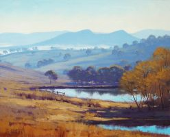 Farm Dams Oberon by artsaus