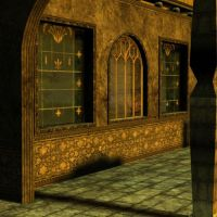 3d Background - Gothic Corrior by Sheona-Stock
