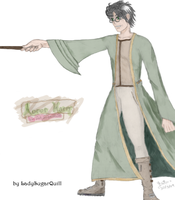 Auror Harry - Green by ladysugarquill