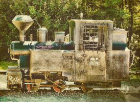 Vintage locomotive by Noncsi28