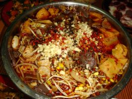 my cooking-spicy hot pot by sinammonite
