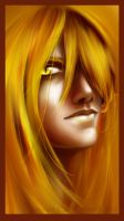 One half of the Twins - GOLD by albyon