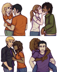 PJO Couples by Deesney
