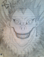 Ryuk the Shinigami by Naru77Sonic