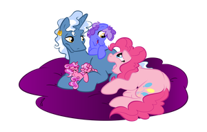 Sitting with Mom and Dad by LittleTiger488