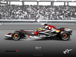 McLaren Mercedes MP4-22 by emrEHusmen