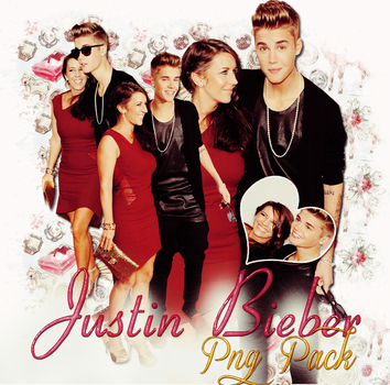 Pack png 180 Justin BIeber by MichelyResources