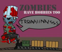 Zombie hobbies by urmothermuhahaha