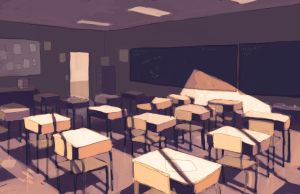Classroom - Color study by YanYu