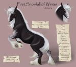 First Snowfall of Winter by FlareAndIcicle