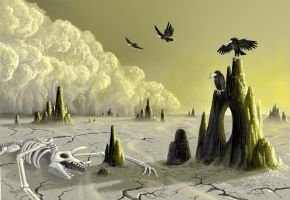The Plains of Dust by AlanGutierrezArt