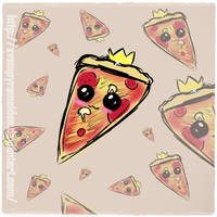 OH THE HOLY PIZZA SLICE by AncientDivina