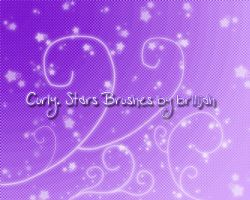 Curly - Stars brushes by Brilijah