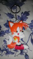 Tails Rubber Keychain by spaceman022