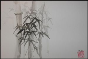 Winter Bamboo 2 by wuthitz