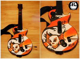 Guitar Hero : Custom Faceplate by ricepuppet