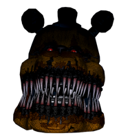 Fredbear Head Cutout by XminecraftmarioX
