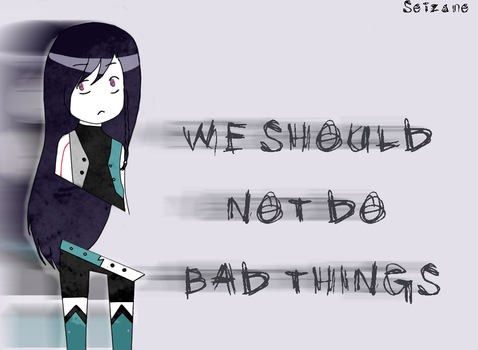 We Should Not do Bad Things -Yuri V.M.S02- by Seizane