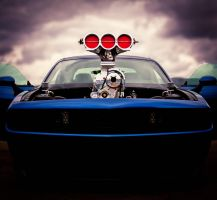 Blown Dodge Challenger by D3516N3R