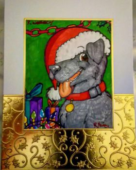Christmas Cards 2016 - Penelope by LadyIonia