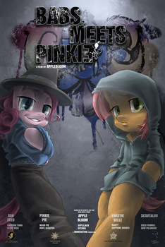 Babs meets Pinkie by RouletteObsidian