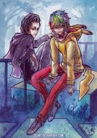 Angelo and Jeffree by Si3art