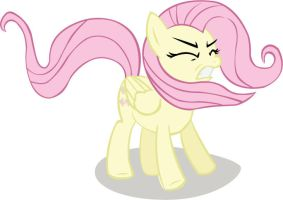 fluttershy vector mlp by FatesHero