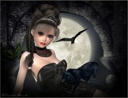 ::Little Goth Princess :: by christel-b