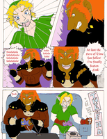 Link VS Ganondorf by StealthNerd