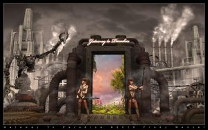 Gateway To Paradise by Fredy3D