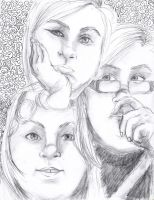 3 Faces by singingcatartist12